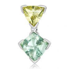 Green Prasiolite Silver Limited Pendant - PP2766GP